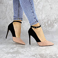 Туфли женские на каблуке Fashion Beth 2186 40 размер 25,5 см Розовый