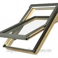 Мансардное окно Факро (FAKRO) FTS-V U2, 02 55x98 cм