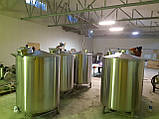 Ємність для вина 3000л з люком, фото 4