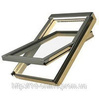 Мансардное окно Факро (FAKRO) FTP-V U3, 01 55x78 cм