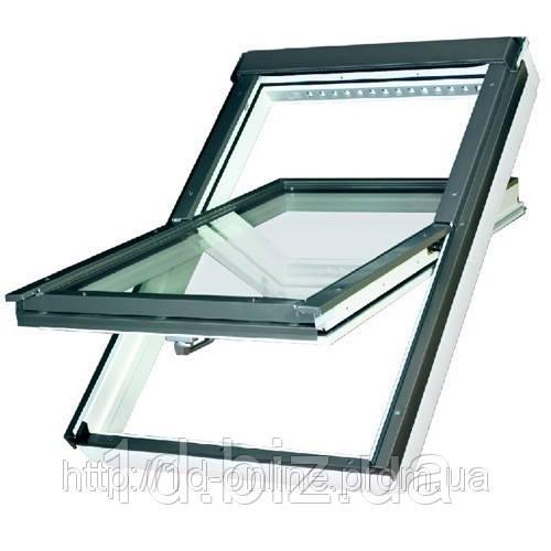 Мансардное окно Факро (FAKRO) влагостойкое FTU-V U3, 01  55x78 cм