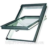 Мансардное окно Факро (FAKRO) влагостойкое FTU-V U3, 02  55x98 cм