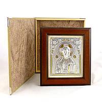 Икона  Иисус Христос в деревянной рамке Гранд Презент 2049