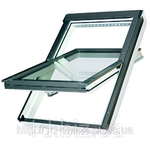 Мансардное окно Факро (FAKRO) влагостойкое FTU-V U3, 09  94x140 cм