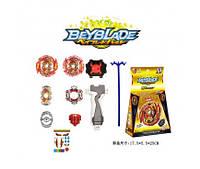 Игровой набор Бей Блейд, 4 вида, волчок+запускалка, BB863A-1