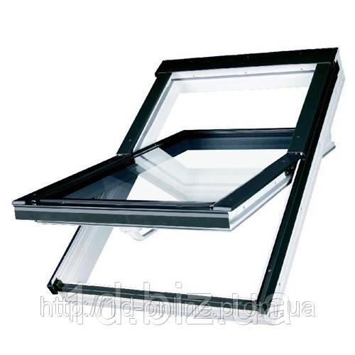 Мансардное окно Факро (FAKRO) влагостойкое PTP V U3, 06  78x118 cм