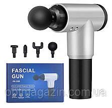 Вібраційний масажер для тіла Fascial Gun CY 801 Health, фото 2