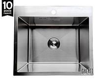 Мийки кухонні з нержавіючої сталі