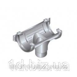 Воронка водосточной системы Хантер (Hunter) Шторм 200 мм серый
