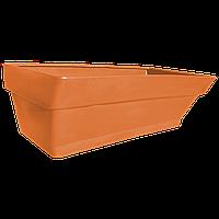 Грядка пластиковая 210 л оранжевая