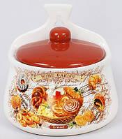 Керамические банки для сыпучих продуктов банка емкость для круп сахара продуктов Home Baking 350мл настенная