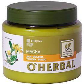 Маска для тонкого волосся з екстрактом арніки 500 мл O Herbal