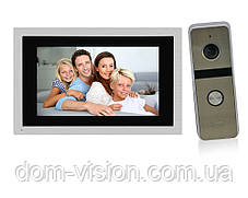 Комплект видеодомофона DOM AHD 10TS + панель вызова DOM AHD 01S, фото 3