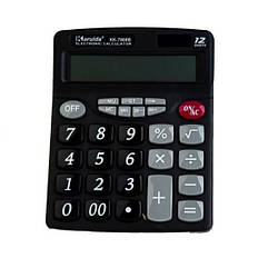 Калькулятор чисел Karuida KK 7800B, для дома и работы, черный