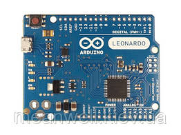 Arduino Leonardo Without Headers A000052, плата микроконтроллера Ардуино ► Оригинал ✅ Made in Italy ✅◄