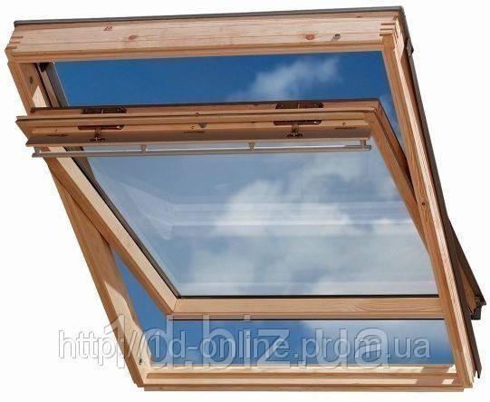 Мансардное окно Велюкс (VELUX) GGL 2070  РK08 94х140 cм