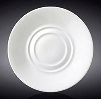 Набор 12 блюдец Wilmax Olivia под чашку универсальные, Ø15см