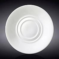 Набор 12 блюдец Wilmax Olivia под чашку универсальные, Ø14см