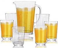 Набор для напитков Oakley 6 стаканов 400мл и графин 1.6л