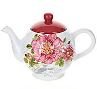 "Чайник заварочный ""Райский сад"" 850мл BD-DM488-P Чайники заварники"