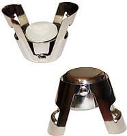 Пробка для шампанского с защелкой и силиконовым уплотнителем многоразовая HS-9653