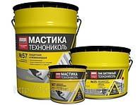 Мастика защитная алюминиевая ТЕХНОНИКОЛЬ № 57, 20 кг