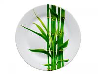 Тарелка столовая мелкая Бамбук круглая 19см