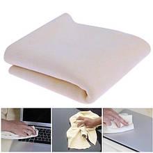 Универсальное полотенце из микрофибры для мытья автомобиля 40*50 см