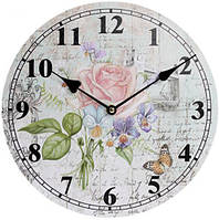 Часы настенные Ufficio Postale. Роза Ø29см BD-487-307-PC
