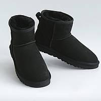 Женские UGG Classic Mini черные. Полностю натуральные.