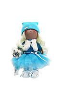 Текстильная кукла ручной работы Эльза --