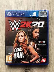 WWE 2K20 (англ.) PS4