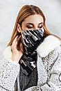 Шарф-маска двостороння сіра, фото 2