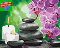 Картина по номерам Релакс орхидеи 40*50см KHO2033 Розпис по номерах