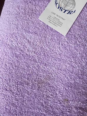 Простынь махровая 175х200 (Сиреневая), фото 2