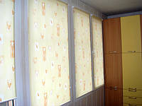Шторы из ткани Кленовый Лист в Украине производство под заказ