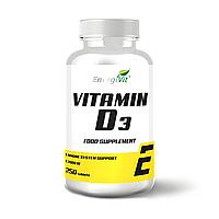 Витамин Д3 - EnergiVit Vitamin D3 /250 tablets