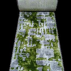 КОВРОВАЯ ДОРОЖКА MERINOS YAQUT серо зеленая 6848 / 0.8 м