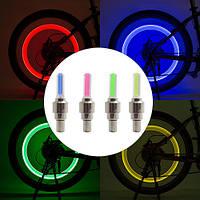 Велосипедный золотник велофонарь  817, 1 цвет, 1 LED, 3xLR1130