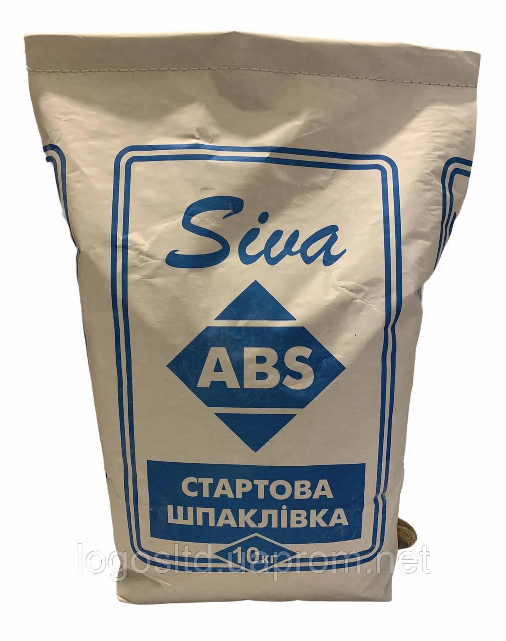 Шпатлевка АВС стартовая  10 кг (Турция)