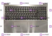 Оригинальная клавиатура для ноутбука Lenovo ideapad 7000-15 series, ua, gray, подсветка