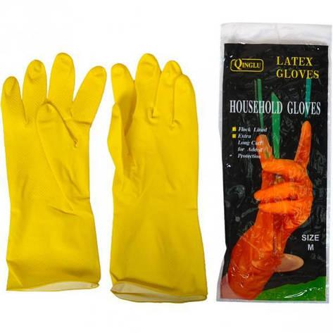 Перчатки латексные хозяйственные «M», фото 2