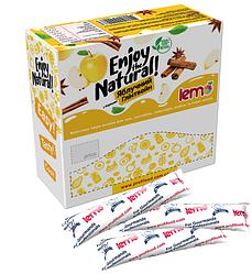 Витаминный чай лемо Lemo - пюре фруктовое для чая , коктейлей, лимонад Яблоко-Корица 15*45г