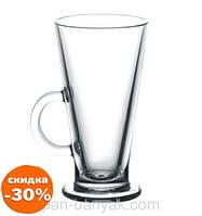 Кружка Pasabahce Colombiana для лате 260мл d7,7 см h14,8 см стекло (55861/1)