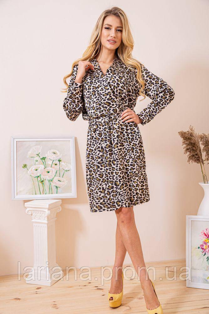 Платье женское 115R163 цвет Леопардовый