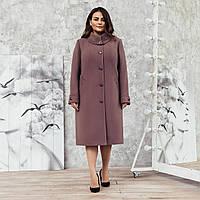 Пальто женское демисезонное классическое Л-614 размер 50-62
