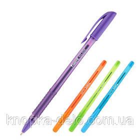Ручка масляная Axent Glide Color AB1052-2-02-A, синяя, 0.7 мм
