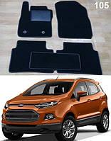 Ворсовые коврики на Ford Ecosport '15-, фото 1
