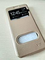 Чехол книжка Xiaomi Note 6 Pro (Gold)