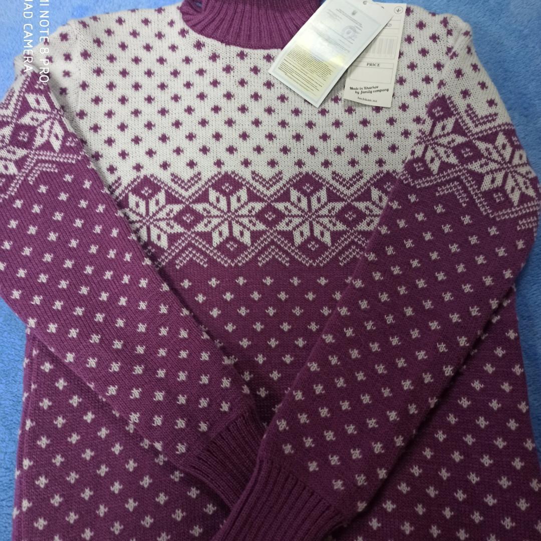 Свитер модный красивый нарядный оригинальный теплый для девочки.